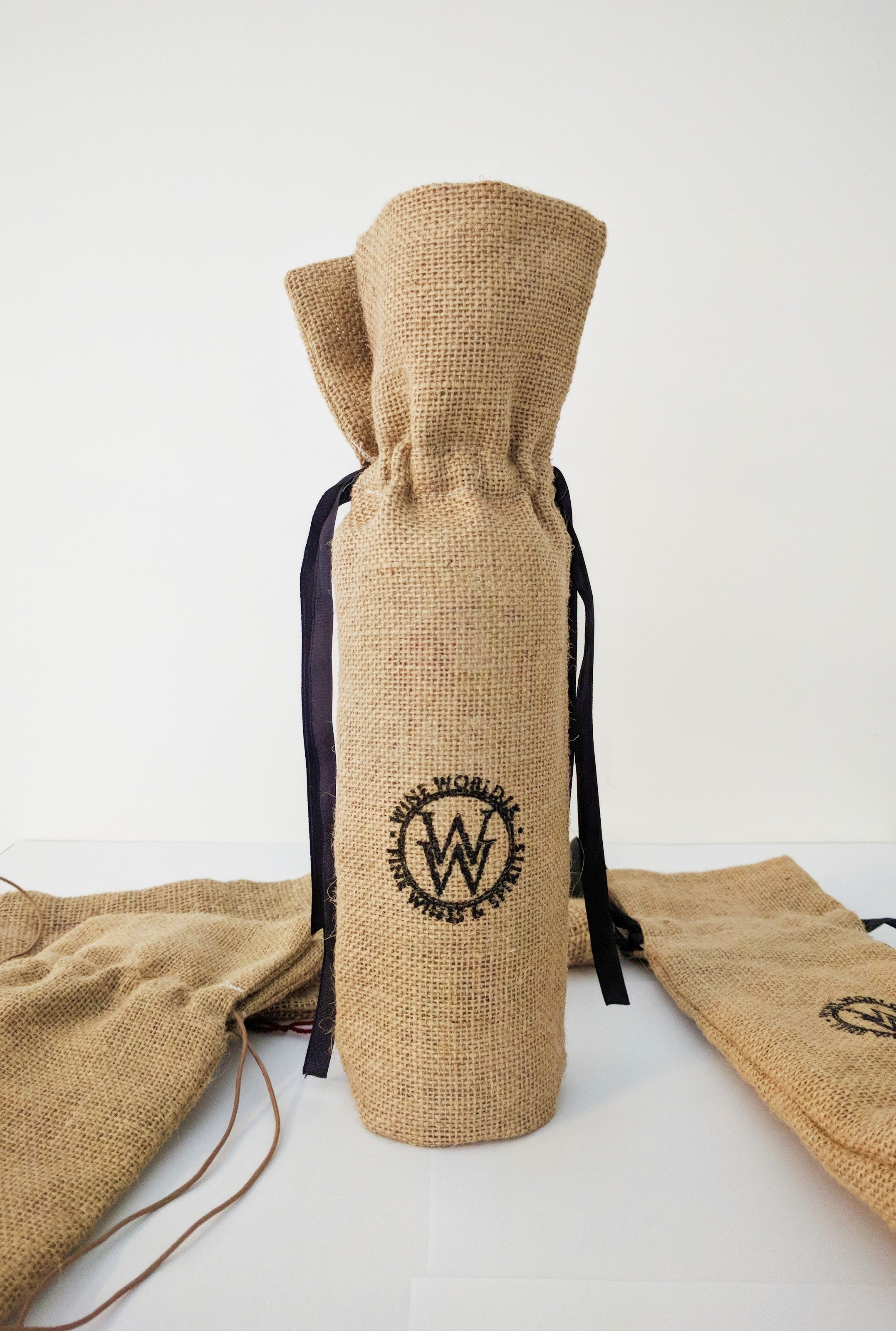 Jute Gift Bag - 750ml Bottle
