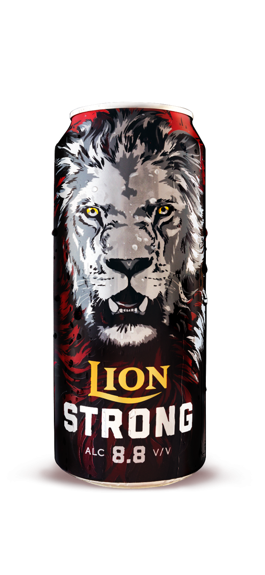 Lion Strong Beer 500ml 6 Pack