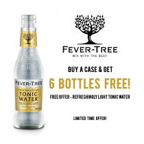 Fever Tree Premium Indian Tonic Water Case + Free Offer