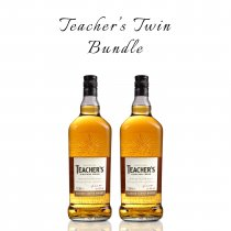 Teacher's 1 Litre Twin Bundle