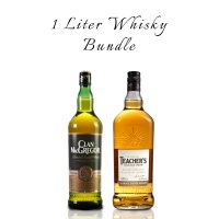 One Liter Whisky Bundle