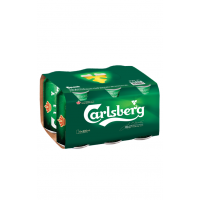 Carlsberg Beer 330ml 6 Pack